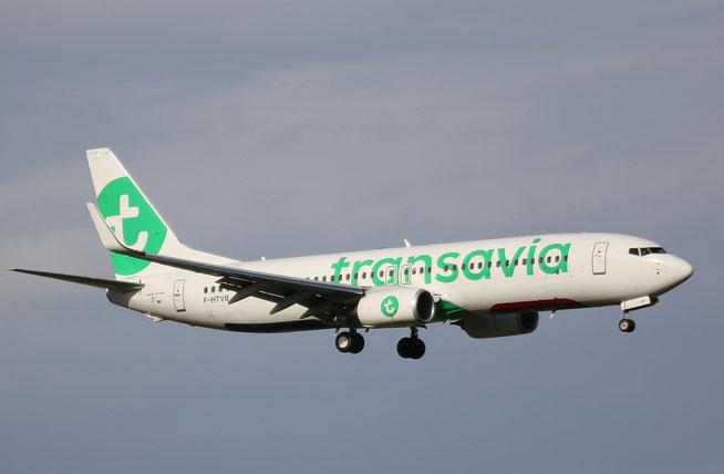 """B 737-8K2/W  """" F-HTVB """" Transavia France -2"""