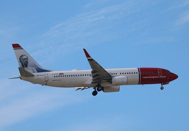 """B 737-8JP  """" EI-FJV """"  Norwegian -1"""