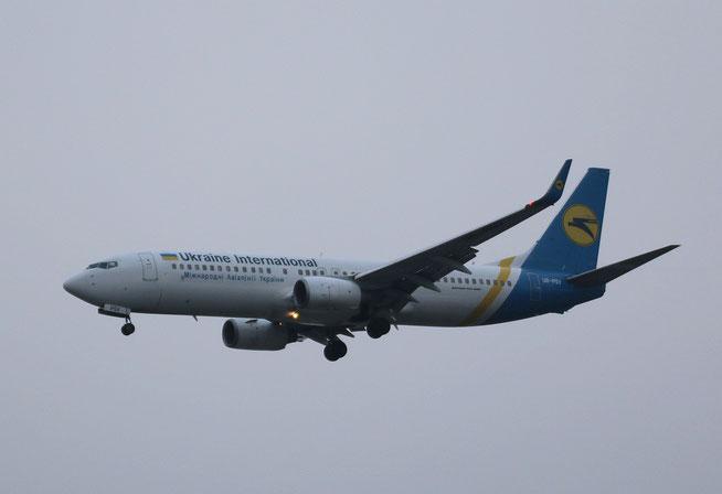 "B 737-8AS/W "" UR-PSV "" Ukraine International Airlines -1"