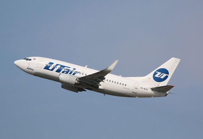 """B 737-524/W """" VQ-BJU """" UTair -1"""