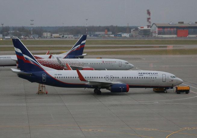 "B 737-8LJ/W  "" VQ-BHW ""  Aeroflot -1"