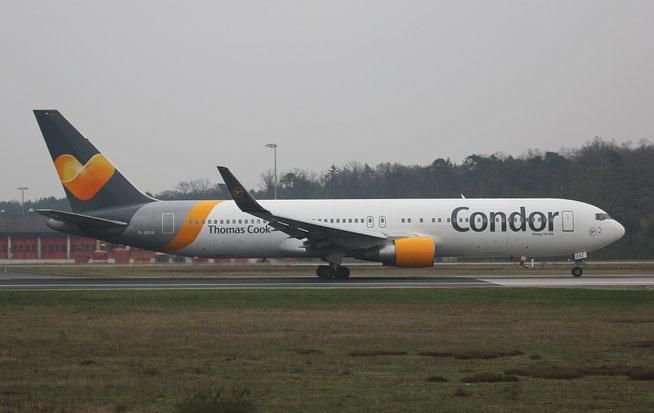 "B 767-330ER  "" D-ABUA "" Condor -2"