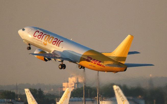 """B 737-4YO  """" LZ-CGT """"  Cargo Air -4"""