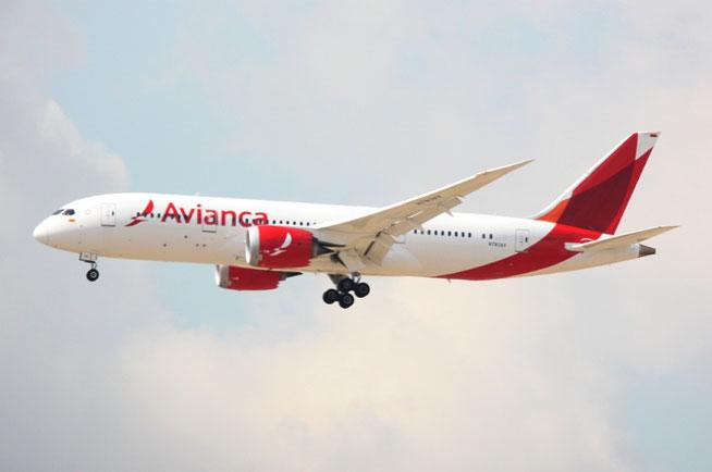 """B 787-8  """" N783AV """"  Avianca -1"""