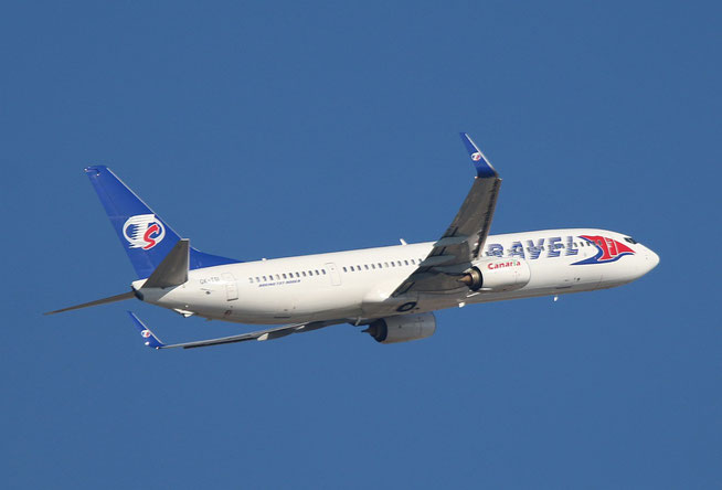 """B 737-9GJ(ER) """" OK-TSI """"  Travel Service -1"""