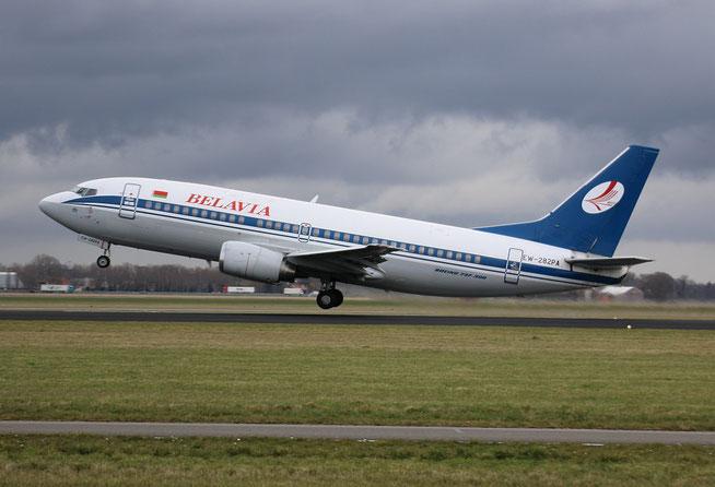 """B 737-3Q8  """" EW-282PA """"-1"""