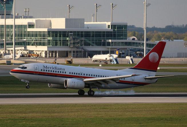 "B 737-73S  "" EI-FFM ""  Meridiana -2"