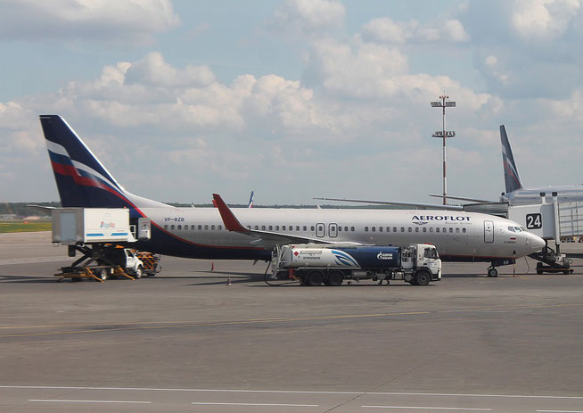 "B 737-8LJ/WL  ""  VP-BZB ""   Aeroflot -1"