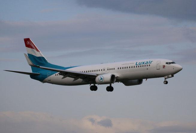 "B 737-86J/W "" LX-LBB ""  Luxair -2"