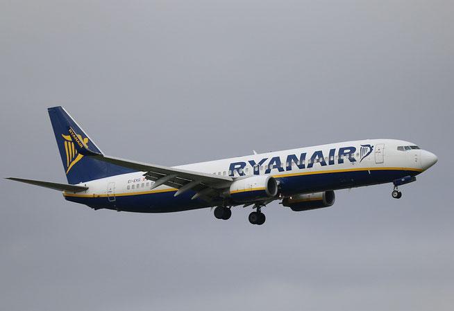 "B 737-8AS (W)  "" EI-EKG ""  Ryanair -2"