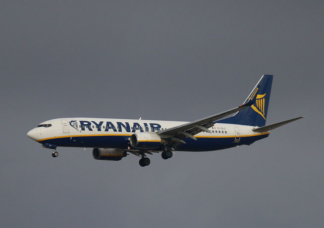 "B 737-8AS (W)  "" EI-DLC ""  Ryanair -1"