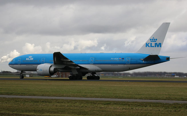 """B 777-206ER  """" PH-BQB """"  KLM Royal Dutch Airlines -2"""