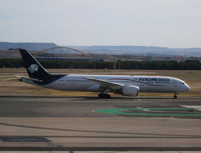 "B 787-9  "" XA-ADC ""   Aeromexico -1"