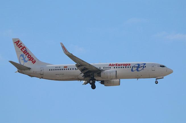 """B 737-86Q  """" EC-III """"  Air Europa -2"""