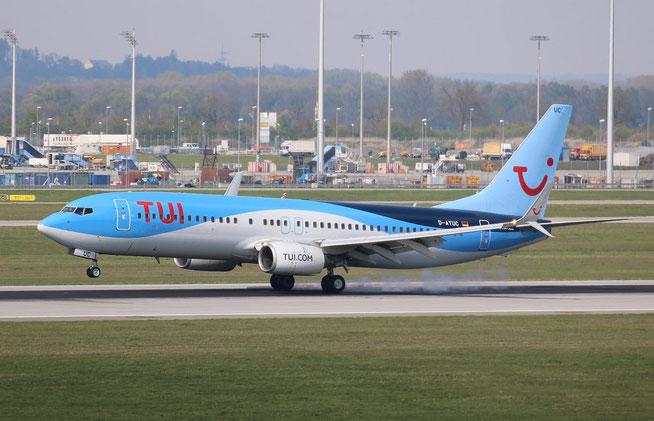 "B 737-8K5/W  "" D-ATUC "" TUIfly -2"