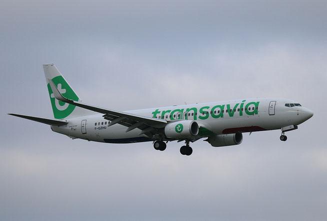 """B 737-8K2/W  """" F-GZHU """" Transavia France -1"""