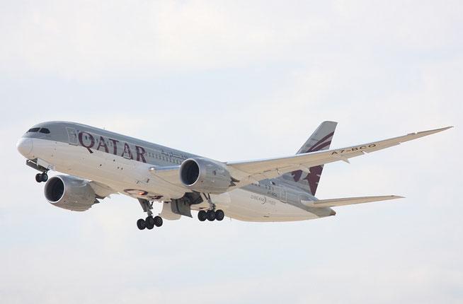 """B 787-8  """" A7-BCQ """" Qatar Airways -1"""