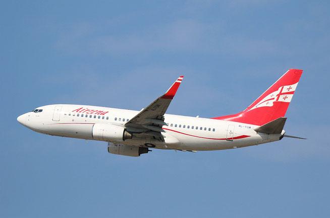 "B 737-76N/W "" 4L-TGM "" Georgian Airways -2"