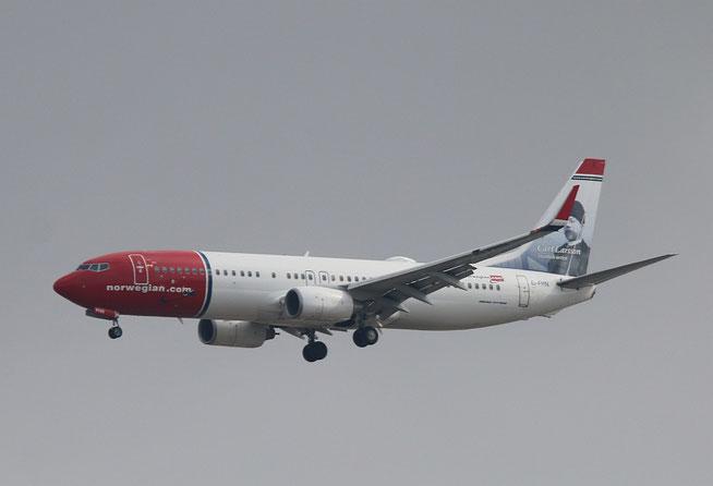 """B 737-8JP  """" EI-FHN """"  Norwegian -1"""