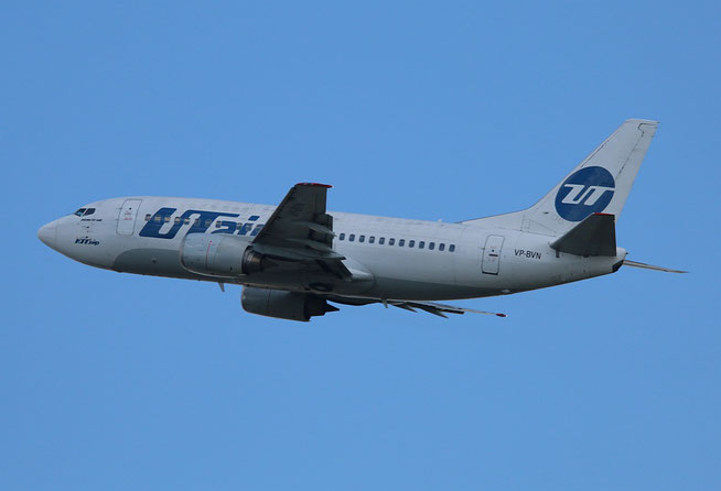 """B 737-524 """" VP-BVN """" UTair -1"""