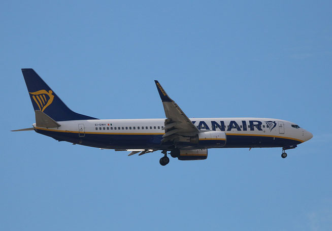 "B 737-8AS (W)  "" EI-DWV ""  Ryanair -1"