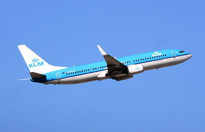 """B 737-8K2 """" PH-BXN """" KLM Royal Dutch Airlines -1"""