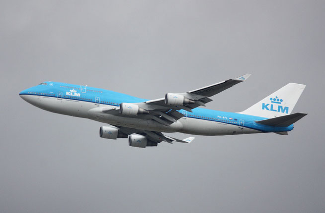 "B 747-406  "" PH-BFL "" KLM Royal Dutch Airlines -1"