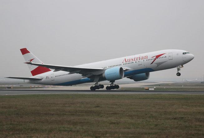 """777-2Z9ER """" OE-LPA """"  Austrian Airlines -1"""