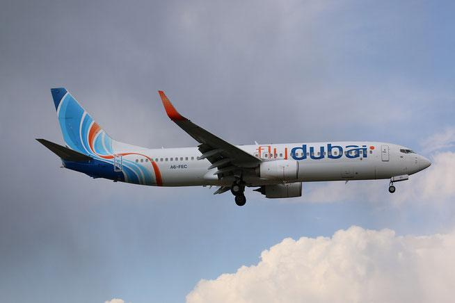 """B 737-8KN/W """" A6-FEC """"  flyDubai -1"""