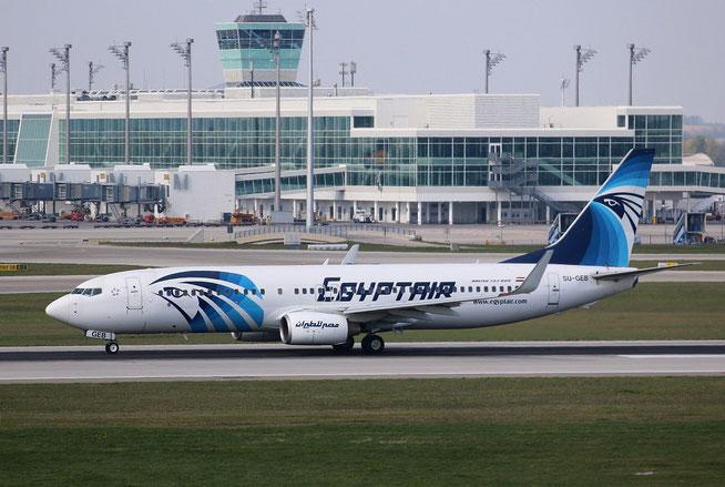 """B 737-866/W """" SU-GEB """" Egyptair -2"""