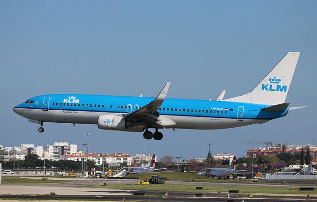 """B 737-8K2 """" PH-BXN """" KLM Royal Dutch Airlines -2"""
