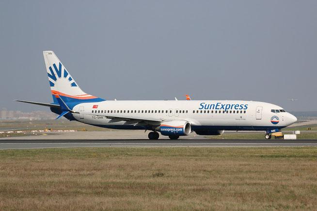 "B 737-8HC/W "" TC-SNN "" Sun Express -1"