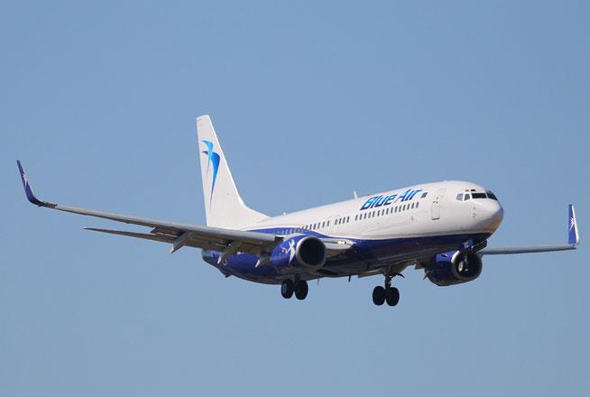 "B 737-85F/W  "" YR-BMC ""   Blue Air -1"
