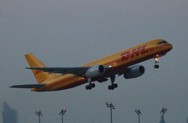 """B 757-28A(PCF) """" G-DHKH """" DHL Air -1"""