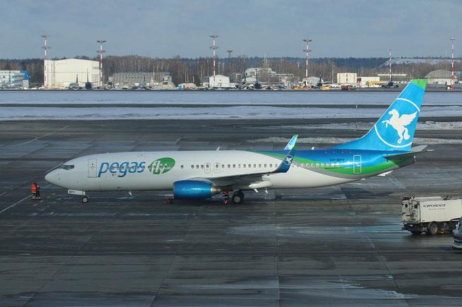 "B 737-83N  "" VP-BPY "" Pegas Fly -1"