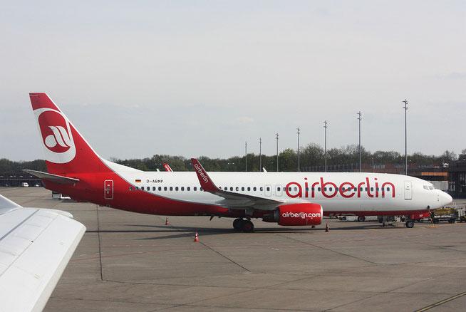 """B 737-86J(W) """" D-ABMP """" Air Berlin -1"""