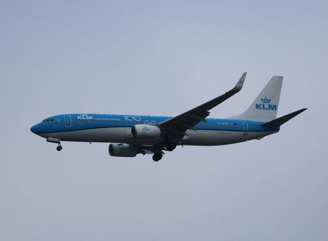 "B 737-8K2/W "" PH-BXW "" KLM Royal Dutch Airlines -2"