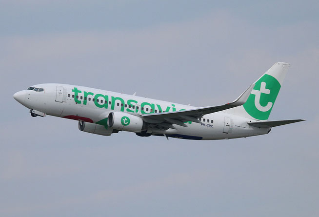 "B 737-7K2/W "" PH-XRX "" Transavia Airlines -2"