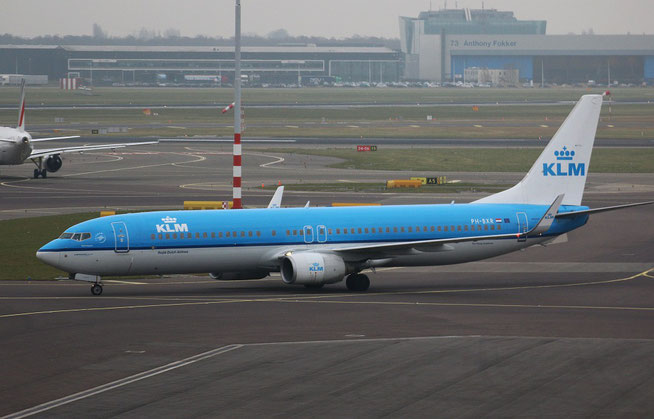 "B 737-9K2 "" PH-BXR "" KLM Royal Dutch Airlines -1"