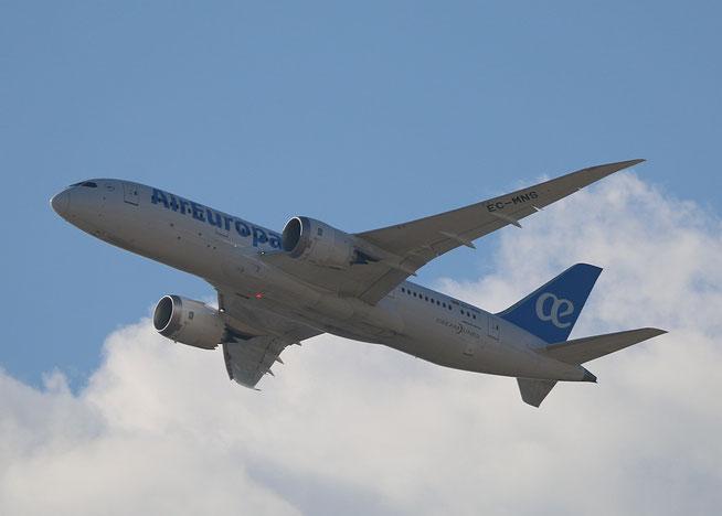 """B 787-8  """" EC-MNS """"  Air Europa -1"""