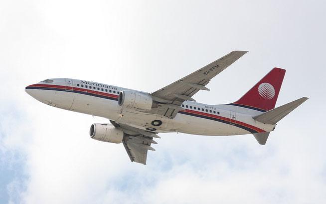 "B 737-73S  "" EI-FFM ""  Meridiana -1"