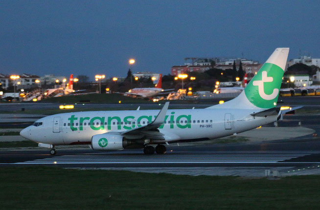 "B 737-7K2/W "" PH-XRC "" Transavia Airlines -2"