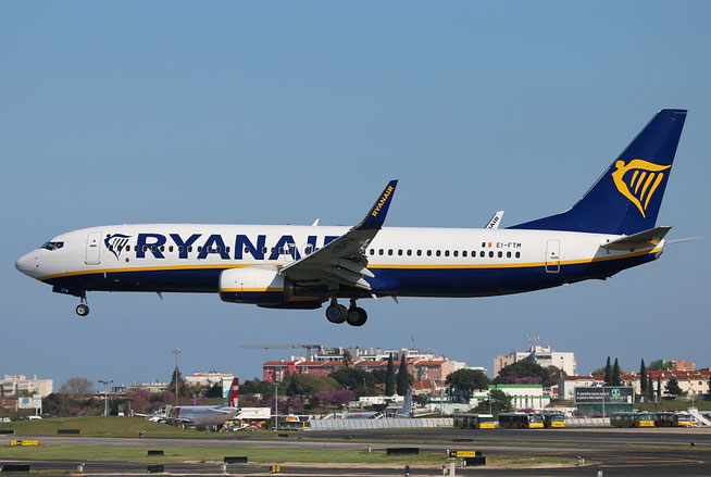 "B 737-8AS (W)  "" EI-FTM ""  Ryanair -2"