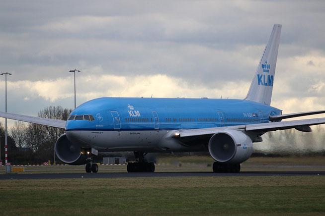 """B 777-206ER  """" PH-BQB """"  KLM Royal Dutch Airlines -1"""