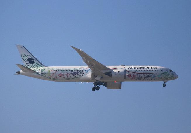 "B 787-9  "" XA-ADL ""   Aeromexico -1"