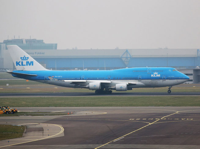 "B 747-406  "" PH-BFU "" KLM Royal Dutch Airlines -1"