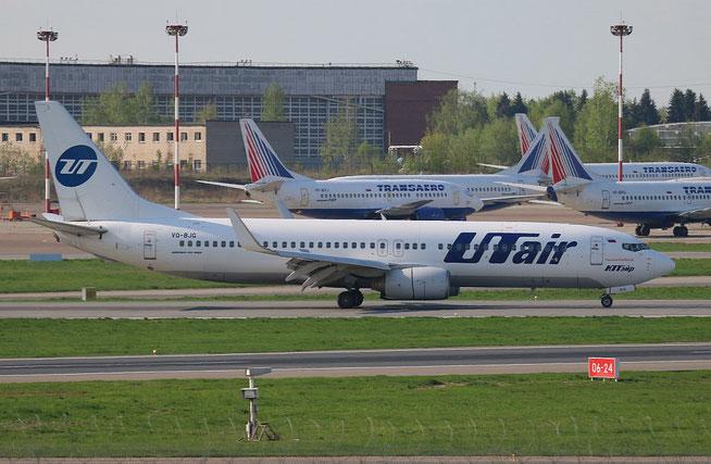 """B 737-8AS/W """" VQ-BJG """" UTair -01"""