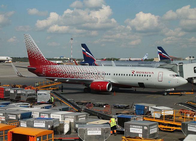 """B 737-8LJ/W  """" VP-BOH """"  Rossiya -1"""