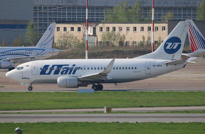 """B 737-524/W  """" VQ-BPO """"  UTair -1"""