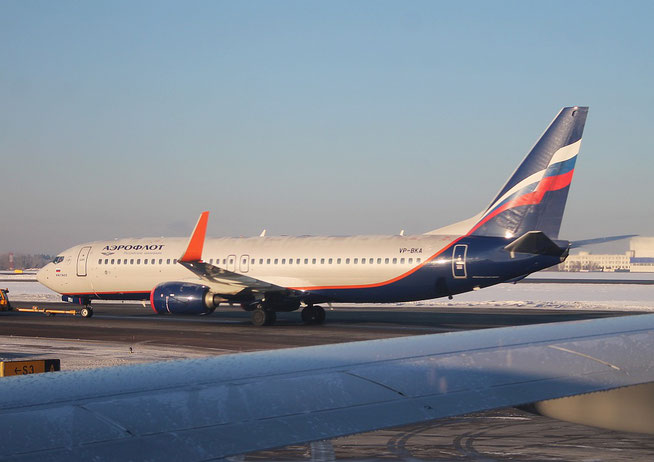 """B 737-8LJ/W  """" VP-BKA """" Aeroflot -1"""